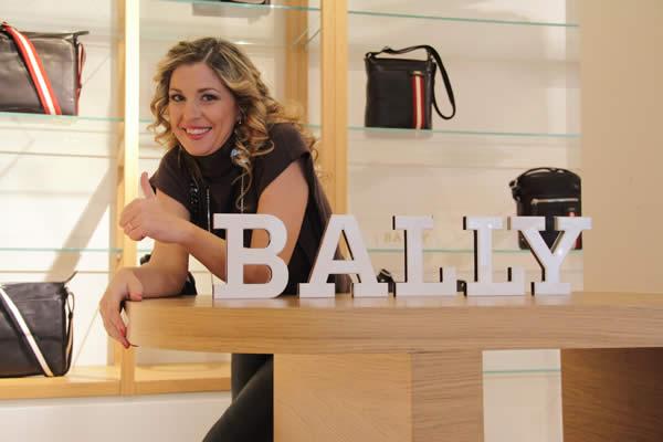 Cristina Lodi alla Fashion Valley da Bally