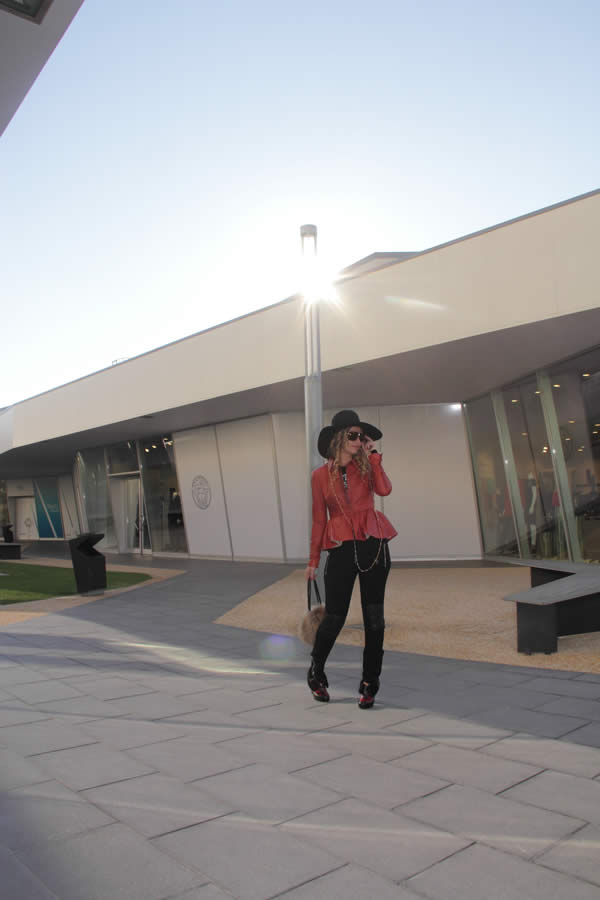 La Fashion Blogger Cristina Lodi alla Fashion Valley