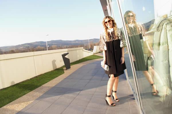 LA fashion blogger Cristina Lodi veste Trussardi