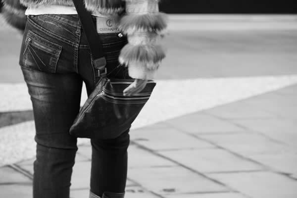 Cristina Lodi con borsa Luis Vuitton