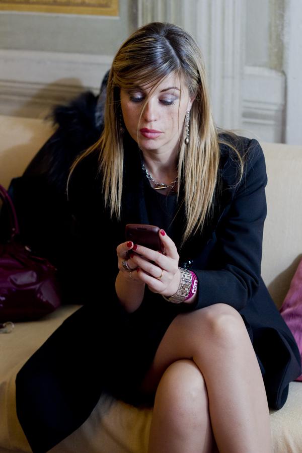 La Fashion Blogger Cristina Lodi con xlo+ a San Valentino