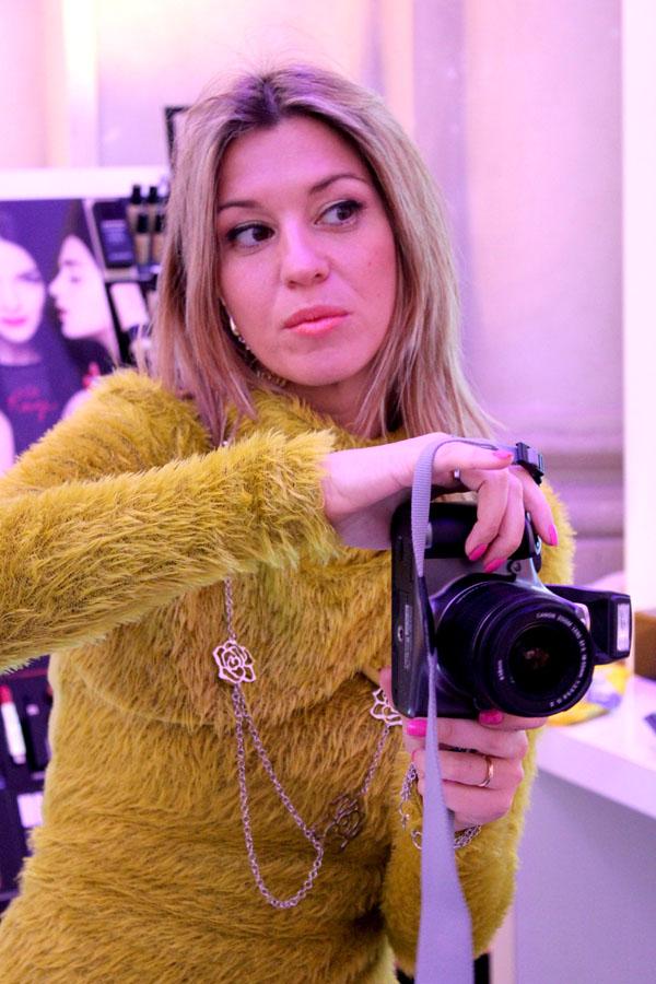 La blogger Cristina Lodi per Givenchy