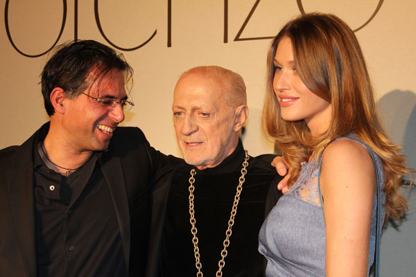 Lorenzo Riva e la bellissima Olga Kent