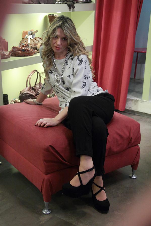 La Fashion Blogger Cristina Lodi a Genova da Gilda Bress