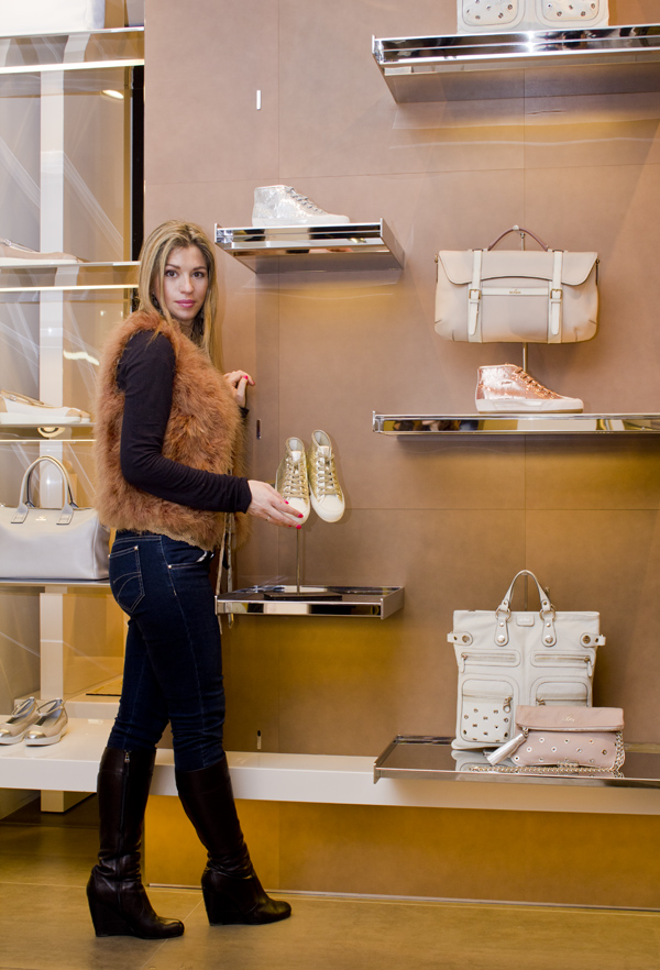 La Fashion Blogger Cristina Lodi e la collezione Hogan
