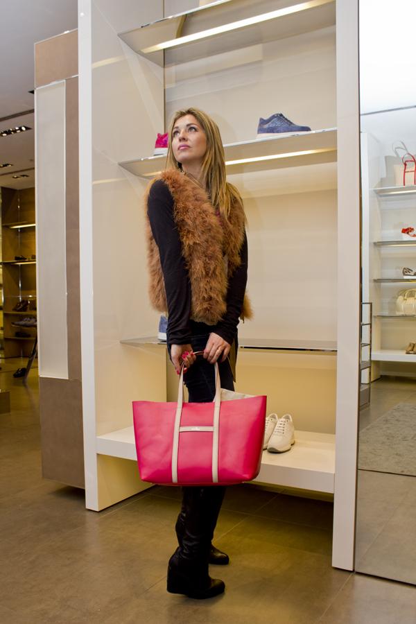 La Fashion Blogger Cristina Lodi e la borsa Hogan