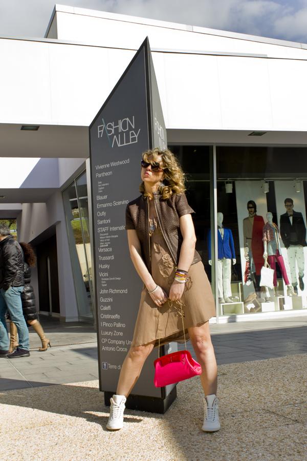 La Blogger Cristina Lodi in Fashion Valley