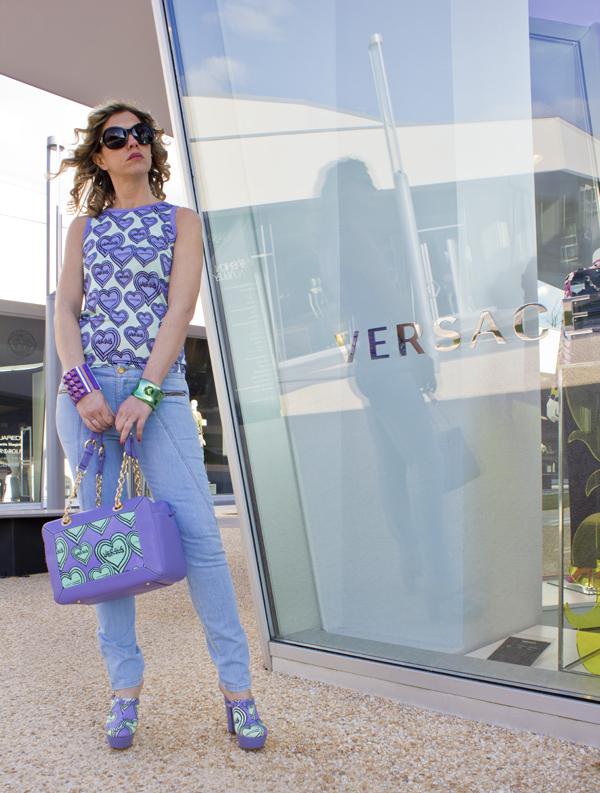 La Blogger Cristina Lodi  alla Fashion Valley