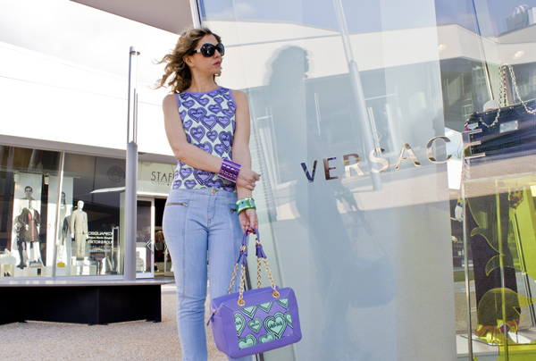 La Fashion Blogger Cristina Lodi indossa Versus