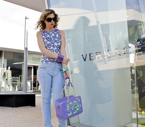 La Fashion Blogger Cristina Lodi per Versace