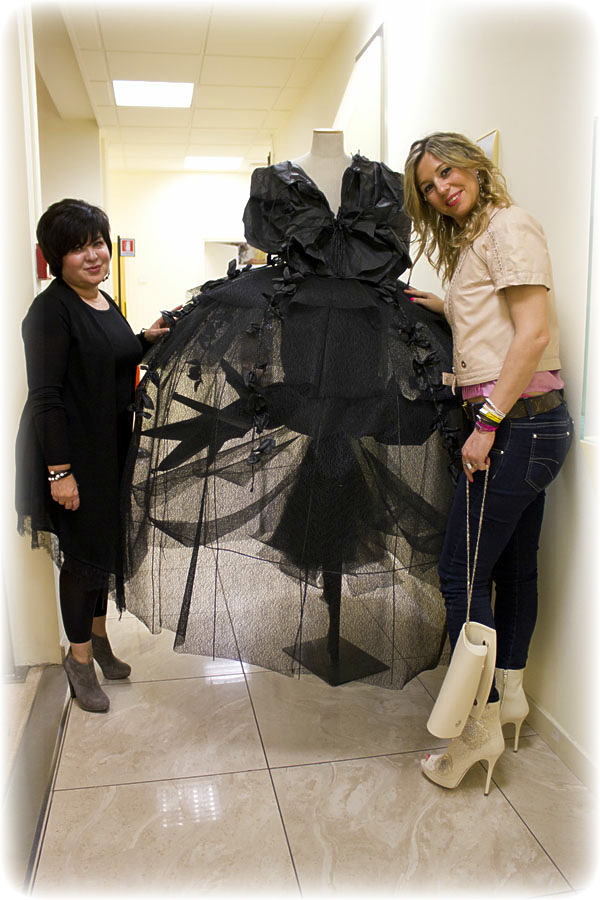 Patrizia Negroni Beauty Services Manager Guerlain con Cristina Lodi