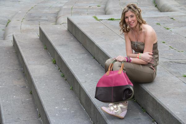 Cristina Lodi con ginniche Gilda Bress