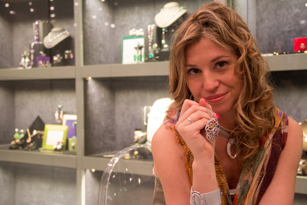 La Blogger Cristina Lodi fotografata da Studio6