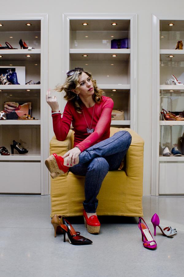 La Fashion Blogger Cristina Lodi da Santoni