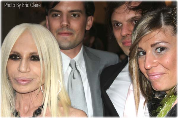 Donatella Versace, Cristina Lodi, gli Haas Brothers