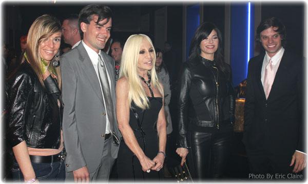Cristina Lodi, The Haas Brothers, Donatella Versace, Ilaria D'Amico
