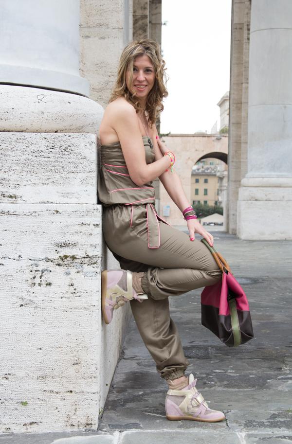 La Blogger genovese Cristina Lodi