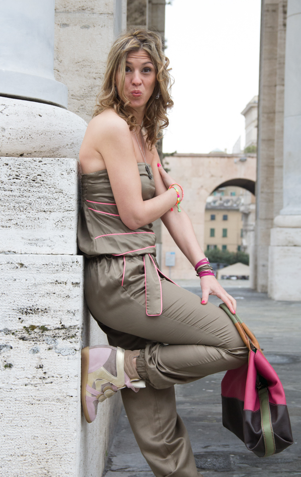 La Blogger Cristina Lodi a Genova