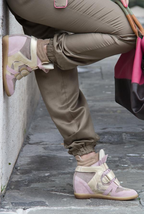 Cristina Lodi indossa scarpe Gilda Bress