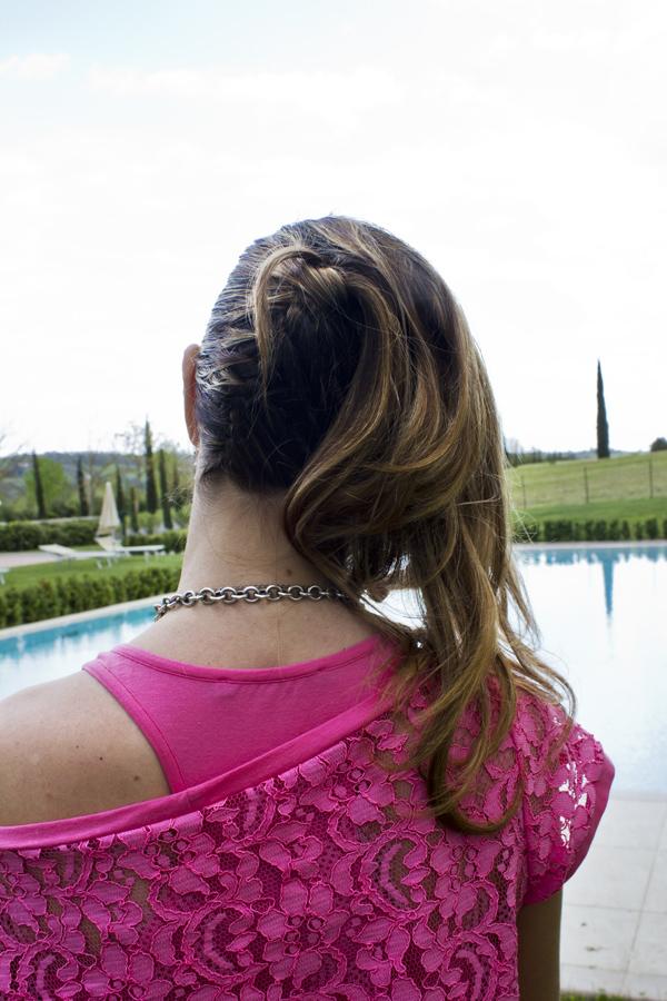La Fashion Blogger Cristina Lodi pettinata da Divina Hair Style