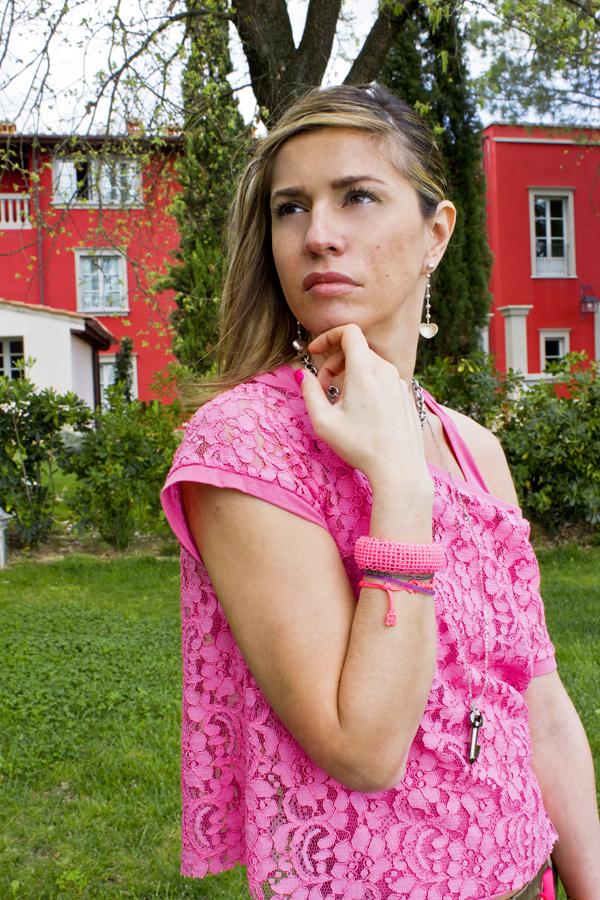 La Fashion Blogger Cristina Lodi con maglia complice by CristinaEffe
