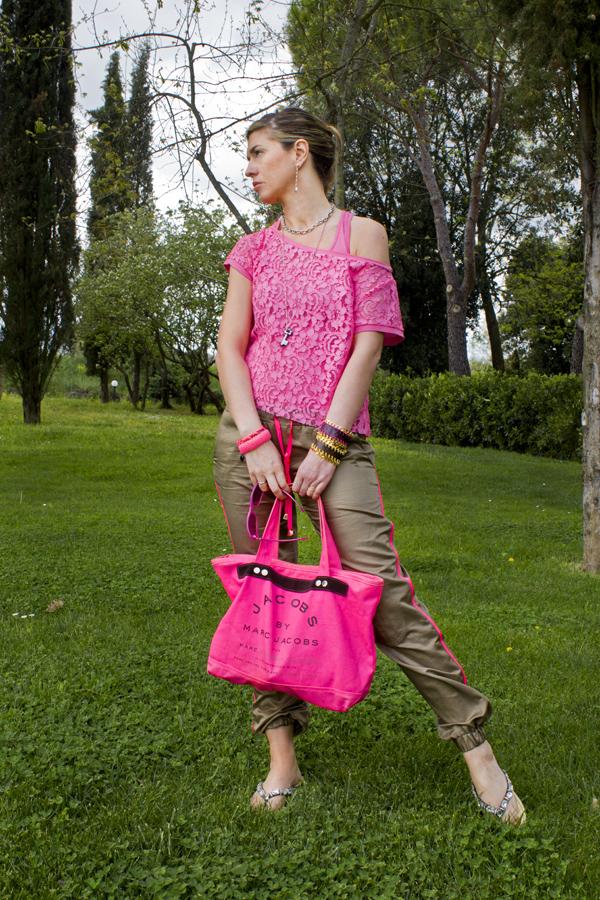La Fashion Blogger Cristina Lodi con sandalo Roberto Botticelli