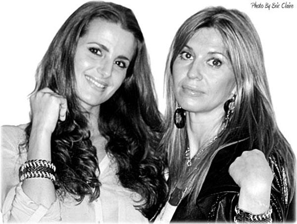 Cristina De Pin & Cristina Lodi con Ikonika for Zoppini