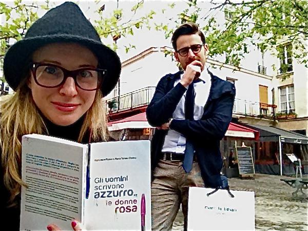 Parigi: Chiara Lodi e Francesco Russo