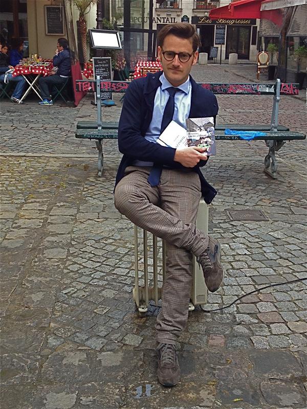 Lo scrittore Francesco Russo