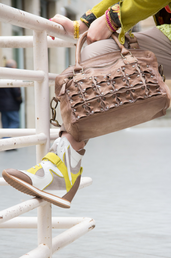 Cristina Lodi con borsa Airstep