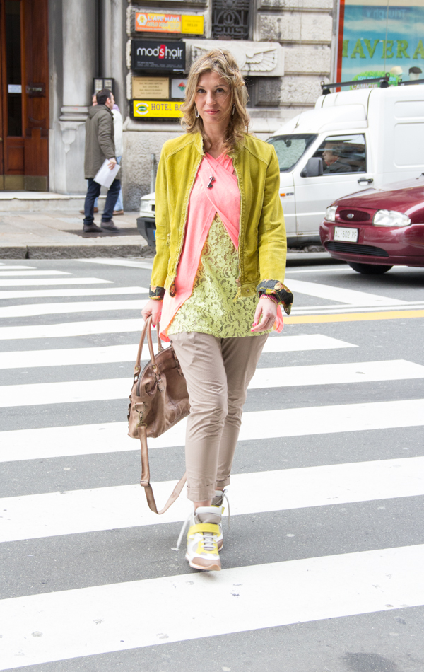 Cristina Lodi nella sua città: Genova