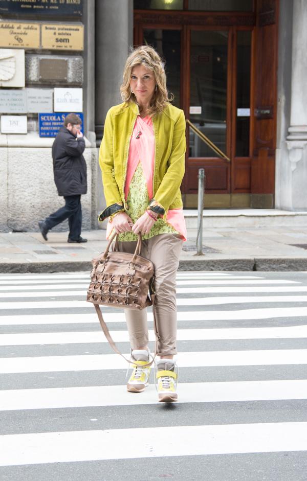 La Blogger Cristina Lodi passeggia per Genova