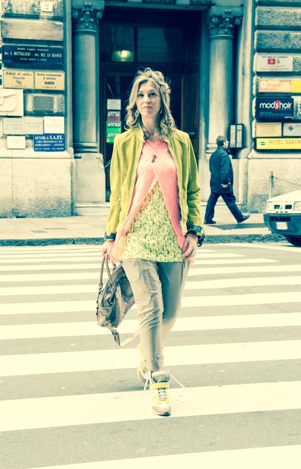 Cristina Lodi con canotta Ava CristinaEffe
