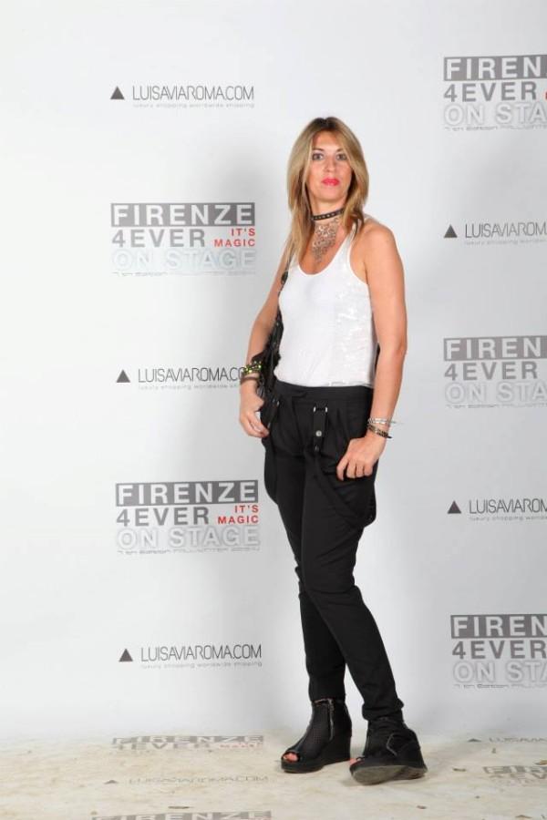 La Fashion Blogger Cristina Lodi al Party di Luisa Via Roma