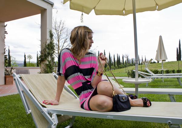 La Fashion Blogger Cristina Lodi a Villa il Palagio