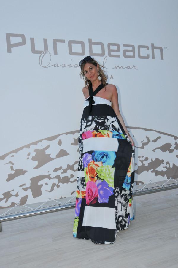 Cristina Lodi al Puro Beach Toscana