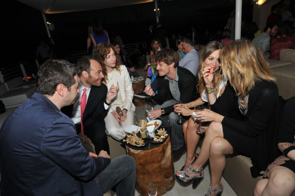 Andrea Pezzi, Cristiana Capotondi, Giorgio Pasotti, Nicoletta Romanoff
