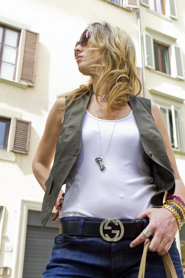 """La Fashion Blogger Cristina Lodi con chiave swarovsky  """"KEY DREAM"""" ZOPPINI"""