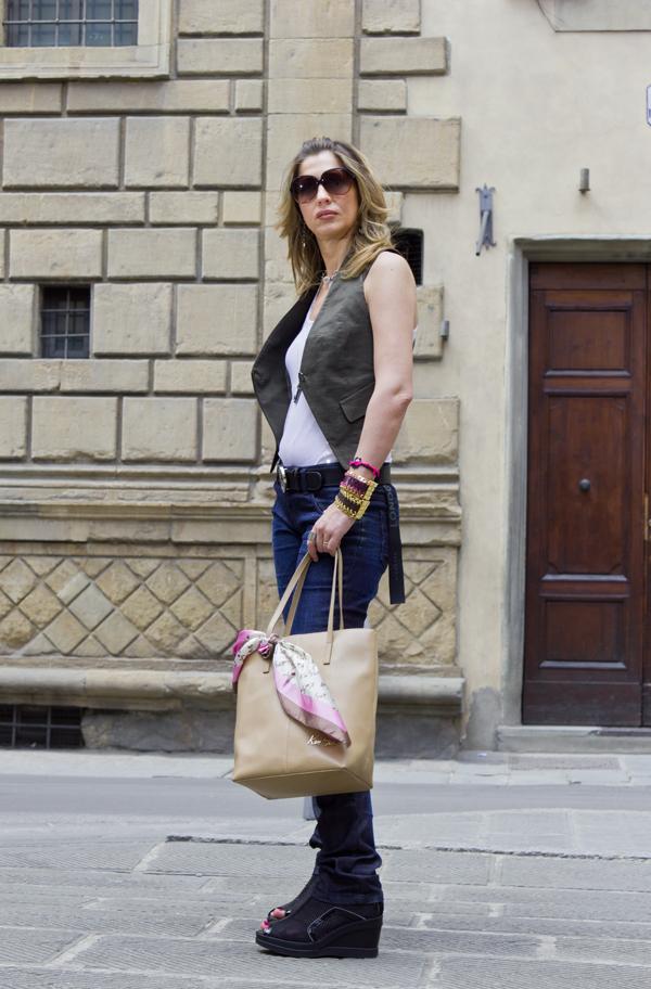 """Il  """"Fashion look on the road"""" di Cristina Lodi"""