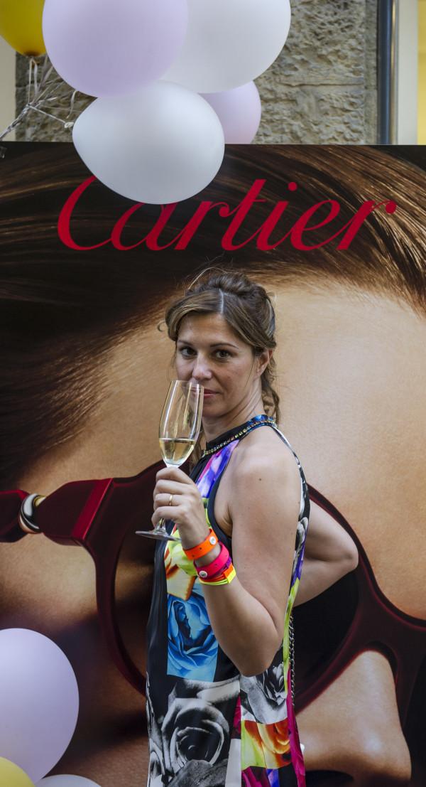 Cristina Lodi per Cartier