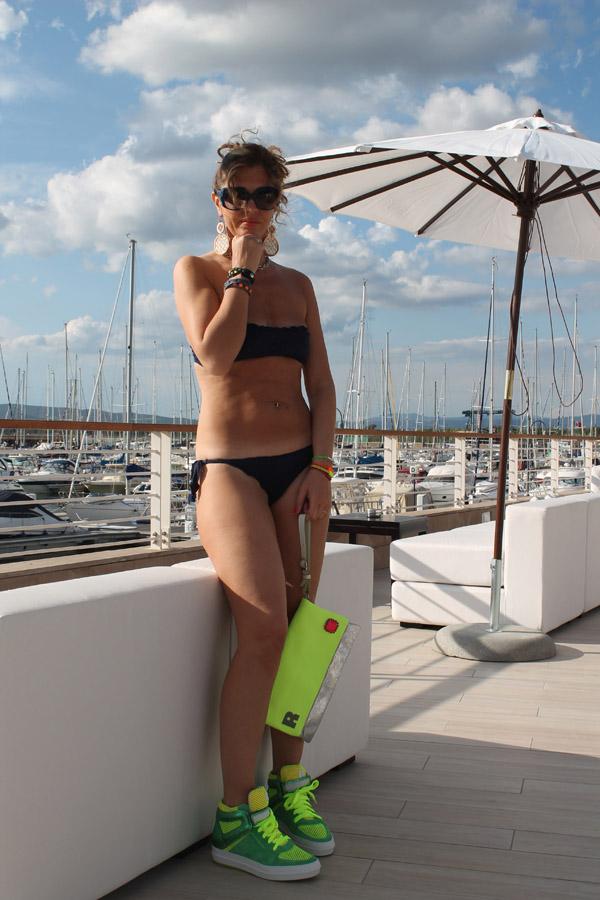 La Blogger Cristina Lodi per Ruco Line e MC2 Saint Barth