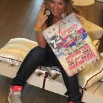 Cristina di 2 Fashion Sisters special guest al Fashion Groove