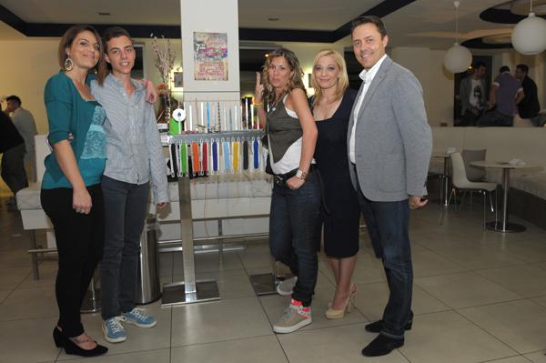 Staff Zoppini con la blogger Cristina Lodi e Francesca di Fashion Groove
