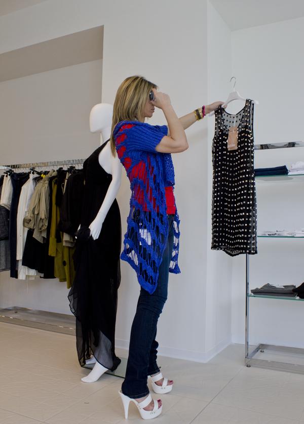 La Fashion Blogger Cristina Lodi fa shopping