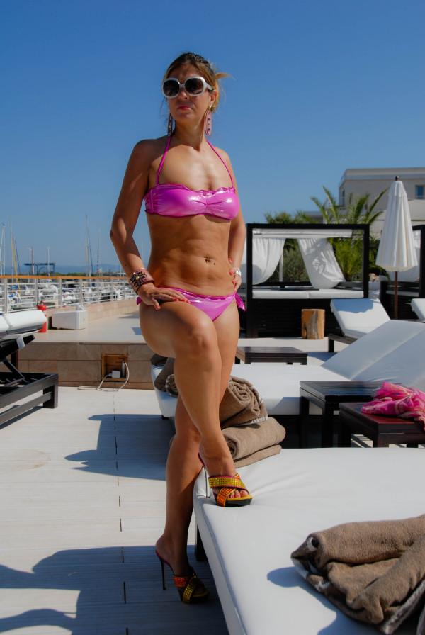 Cristina Lodi al Purobeach Toscana