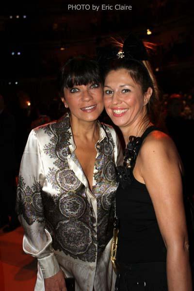 Ana Laura Ribas e Cristina Lodi