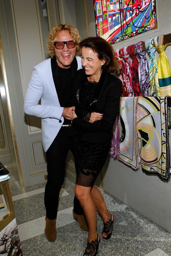 Peter Dundas and Laudomia Pucci