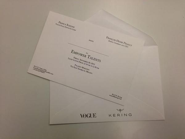 invito kering- vogue