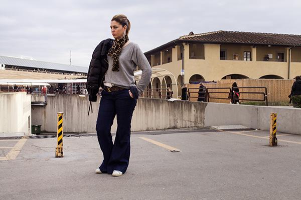 cristina lodi, jeans gap, 2 fashion sisters