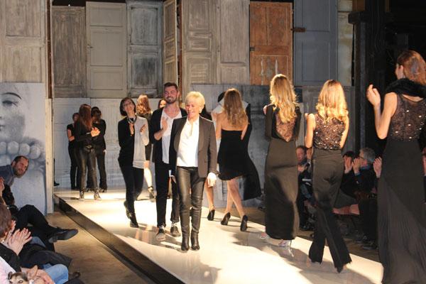 cristinaeffe, f/w 2014/2015 sfilata, cristina fava stilista, 2 fashion sisters